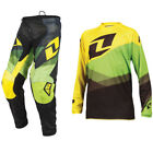 2016 ONE INDUSTRIES YOUTH ATOM MOTOCROSS MX KIT SHIFTER YELLOW GREEN kids jersey
