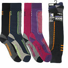 2 or 4 Pairs Of Mens Ladies Long Ski Thermal Socks Ski Winter Warm cycling
