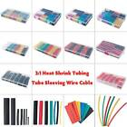 530pcs/150pcs 2:1 Polyolefin Heat Shrink Tubing Tube Sleeving Wrap Wire Kit Box