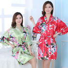 Women's Nightwear Sleepwear Nightgown Short Dress Pajamas kimono Robes Plus Size
