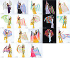 New Belly Dance Costume Gradient Color Silk Shawl Veil 250120cm 18 colours