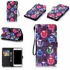 NEW Pattern Flip Cover Stand Leather Wallet With Strap Case For iPhone 6S 7 Plus
