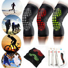 Durable Elastic Copper Gym Sports Leg Knee Compression Support Brace Sleeve MES