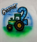 TRACTOR BIRTHDAY T SHIRT NEW PERSONALIZED INFANT, TODDLER & YOUTH