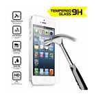For Iphone 4/4s 5/5s/5c Premium Tempered Glass Screen Protectors Film (1/2/3pcs)