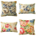 Scatter Box Rosie Floral Print Piped Feather Filled Cushion