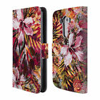 OFFICIAL RIZA PEKER FLOWERS LEATHER BOOK WALLET CASE COVER FOR LG PHONES 1