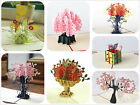 KAILIZ 3D Flowers 3D Greeting Card Birthday Thank You Get Well Card Gifts NEW UK