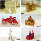 KAILIZ 3D Architecture Greeting Card Postcard Birthday Card Gift NEW Paper Art