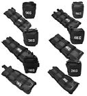 Resistance Leg Or Wrist Weights Running Or Fitness Strength Training in Black