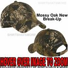 Mens Camo Baseball Hat Mossy Oak Break Up Unstructured Garment Wash Cap Hunting