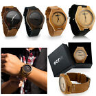 Kyпить Luxury Men's Women's Bamboo Wood Watch Quartz Leather Wristwatches Fashion w/Box на еВаy.соm