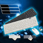 Top!2.4G WHITE mini small numeric wireless keyboard and mouse set for General