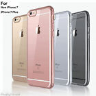 Transparent TPU Back Cover Shockproof Protective Case for Apple iphone6 7/7 Plus