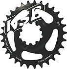 North Shore Billet Direct Mount Variable Tooth Chainring: 26T, SRAM X9/X0 GXP