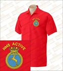 HMS ACTIVE Embroidered Polo Shirts