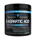 Genomyx Basyx Series D-Aspartic Acid - Increase Muscle Endurance (60 Servings)