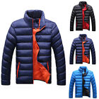Mens Casual Winter Jacket Thick Warm Coat Hooded Parka Overcoat Hoodies