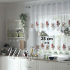 """Kitchen Cafe Net Curtain Coffee Cupcake Width Sold By Metres Drop 20"""" Or 28"""""""
