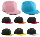 Hot Mens Baseball Adjustable Hat Simple Snapback Crossed Hip-hop Bboy Dance Cap