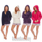 Ladies/Womens Soft Feel Fleece Hooded Snuggle Top/Hoodie Size S, M, L, XL NEW