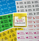 30 Personalised Stick & Wash Clothing Name Labels - For uniforms & Clothing