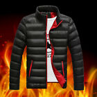 New Fashion Men's cotton-padded Coat Down jacket Slim warm Casual outerwear 2016