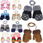 Newest Baby Kids Girls Boys Child Gloves Winter Warm Stretchy Knitted Mittens
