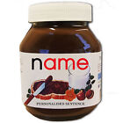 PERSONALISED NUTELLA LABEL Christmas Festive Fun Celebration Gift