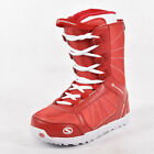 Newly Unisex Snowboard Boots Lace Up Waterproof Shoes Outdoor Skiing Warm Boots