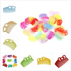100pcs Mixed Color Plastic Hair Clip Comb Hair Supplies Hair Ornament Findings L