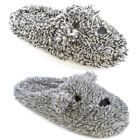 Slumberzzz Women's Two Tone Dog Mule Slippers