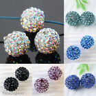 5pc 12mm Crystal Resin Disco Ball Charms Loose Beads For Jewelry Findings DIY