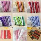 "Series 5/6/7 Pieces Pre Cut Charm Cotton Quilt Fabric 10"" Fat Quarters Bundles"
