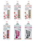 Finger Toe Nail Polish Strips Sticker Zero Drying Time DIY Beauty No Smudging