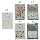 Nail Art Accessory Strips Sticker 3D Zero Drying Time DIY Beauty No Smudging