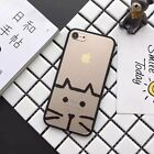 For iPhone 7 7Plus 6 6S Plus 5S Original Sketchy Lines Animal Elegant Image Case