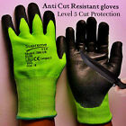 Cut Resistant Gloves Anti-Cutting Level 5 Food Grade Kitchen Butcher Protection