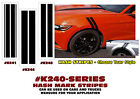 K240-SERIES - HASH MARK STRIPES - THREE STYLES - A GREAT ACCENT - EASY INSTALL
