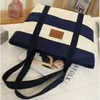 2016 New Canvas Shoulder Bag Womens Large Handbag Striped Mummy Bag New Satchel
