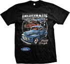 American Made - Ford F-1 Built Tough - Car Lover  Mens T-shirt