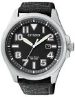 Citizen Eco-Drive 200m Military Gent's Nylon Watch AW1410-24E