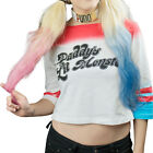 Batman Suicide Squad Harley Quinn Daddy's Lil Monster Fashion T-Shirt Tee Beauty
