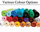 Polyester Felt Rolls for Crafts - Choice of Colours Available