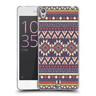 HEAD CASE DESIGNS IKAT TRIBAL PRINTS SOFT GEL CASE FOR SONY XPERIA E5
