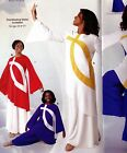 Tunic Bell Sleeve Praisewear Dance Liturgical 3 Color Choices Adult Child Sizes