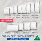 Cushion Insert Aust Made Polyester Premium Lofty Fibre Multi Sizes Available New