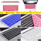 "Keyboard Cover Skin Screen Protector for MacBook Air Pro 11.6'' 12'' 13"" 15"""