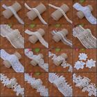 Внешний вид - 5Meters Polyester Cotton Lace Edge Trim Wedding Ribbon Applique DIY Sewing Craft