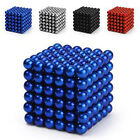 5mm 216pcs Magnet Balls Magic Beads 3D Puzzle Ball Sphere Magnetic Kids toy